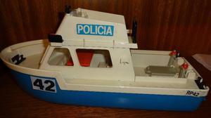 Playmobil - Barco De Policía