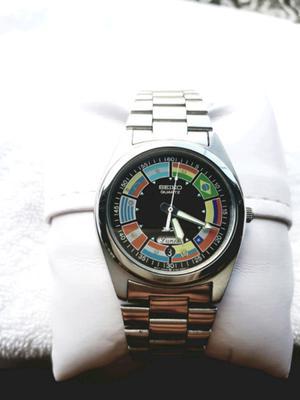 2c84ef3946a9 Reloj seiko edición mundial 86 colección. unico