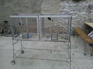 VENDO Jaulón de aluminio. Medidas: 1,40 x 60 x 40.