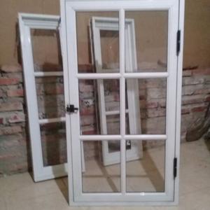 vendo 2 ventanas de aluminio con rosario posot class