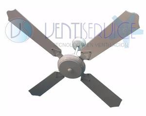 Ventilador De Techo Madera Nacional Motor Potenciado