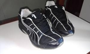 Zapatillas Puma (tela) negras (muy buen estado)