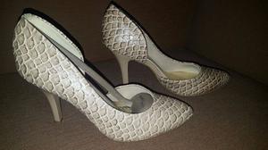 Zapato Alto Beira Rio Talle 37 - Nuevos!!