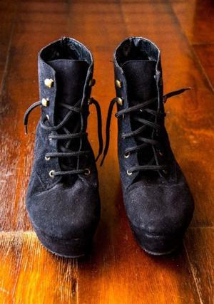 Zapatos De Gamuza Talle 37