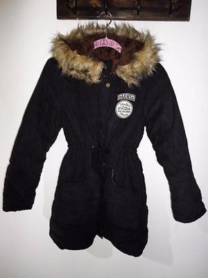 abrigo / campera negra