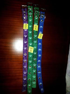 collares de patitas $30