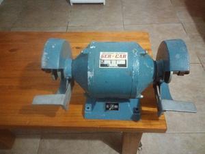 Amoladora de banco monofasica de 1/2hp y rpm