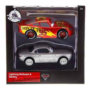 Autos Cars 3 Rayo Mcqueen Y Sterling Deluxe Edition Original