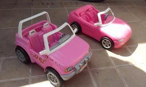 """""""Barbie"""" automoviles (originales de Mattel) usados para"""