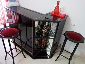 Barra Barman caño y vidrio.