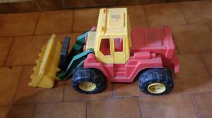 Camion volcador para niño