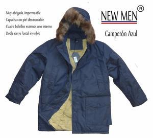 Campera NEW MEN!!! Muy Abrigada Con Capucha!!!!