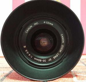 Canon  Mm. Objetivo Zoom Lente