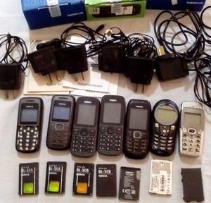 Cargadores celulares Nokia Motorola Alcatel
