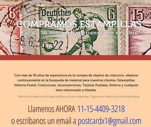 Compro Estampillas Billetes Monedas Postales