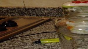 Frascos de vidrio de 1kg. S/tapa