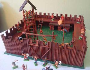 Fuerte en madera para soldaditos de juguetes posot class - Pegamento fuerte para madera ...