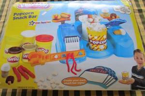 Juego de mansa PLAY DOH!!!, Pop Corn Snack Bar!!!,Hasbro!!!,