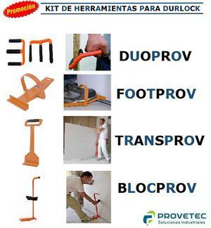 Kit de Herramientas Durlock, Construcción en Seco, Drywall