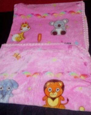 Mantas polar soft para bebe