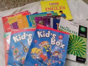 Oferta por mudanza lote de libros y casset para ingles