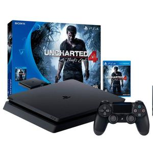 PS4 SLIM 500 GB UNCHARTED 4 !!!