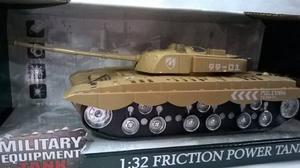 Tanque Militar Escala  Cm X 11 Cm Luz Y Sonido Tanke