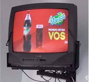 Televisor Philco 21 Pulgadas+ Soporte + Control Remoto