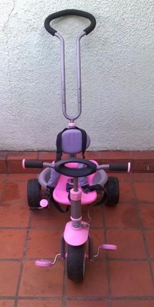Triciclo Kiddy con Manija Direccional nena