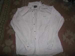 camisa blanca marca soho jeans talle m en muy buen estado