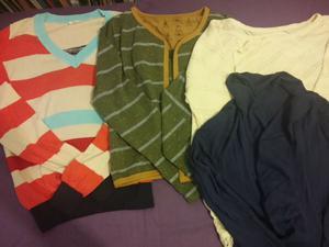 liquido lote de 3 sacos y 1 sweater media estación talle sm