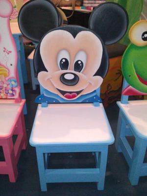 sillas infantiles jardin