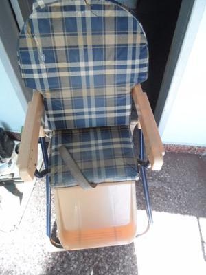 vendo silla para bebe usada