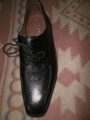 zapatos de vestir de cuero nuevos de hombre talle 44