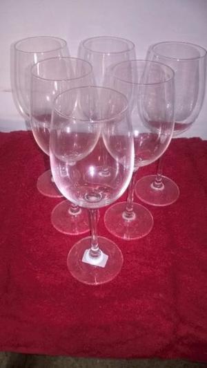 6 copas alemanas para vino blanco