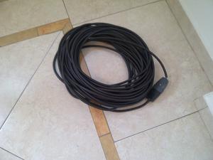 Alargue con cable tipo taller. 25 metros
