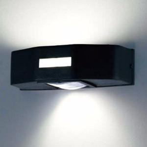 Aplique Bidireccional Vidrio Y Lente C/lampara Philips-