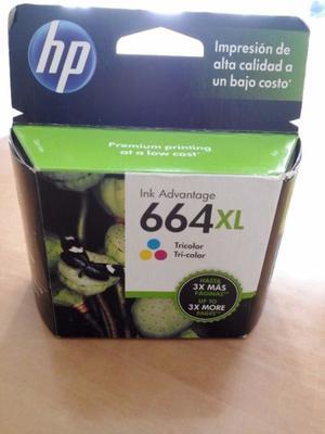 Cartucho HP 664 XL COLOR