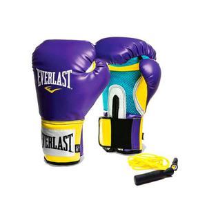 Combo Box Everlast:guantes Prostyle  Oz+ Soga Rulemanes