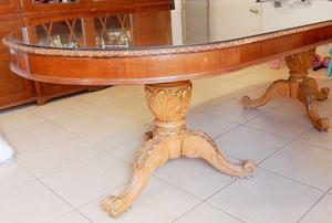 El Restaurador - Antigua Mesa Francesa estilo Luis Xv