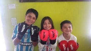 Guantes De Boxeo Junior - Niños Kick Boxing - 6oz
