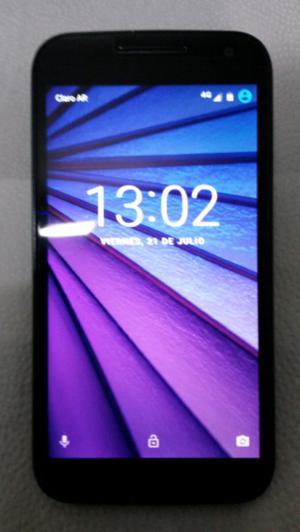 Motorola Moto G 3 Gen Libre de Fábrica Poco Uso 3 Meses