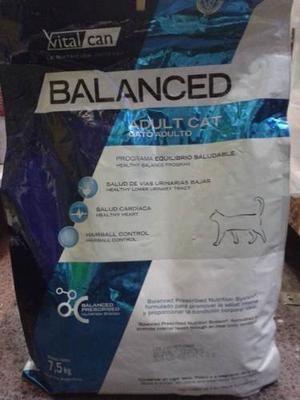 Vital Cat Balanced Gato Adulto 7,5 Kg