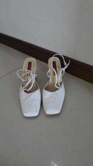 Zapatos De Novia Blancos Talle