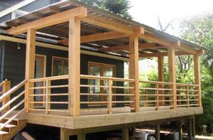 Techados de madera free elegant techos sol y sombra lima - Techados para terrazas ...