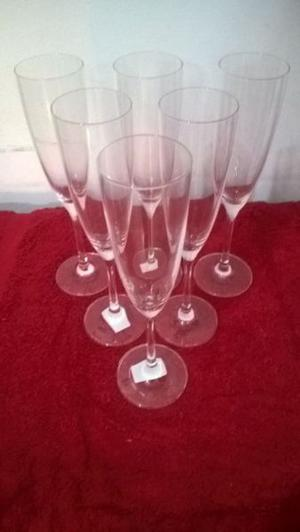 copas de champagne procedencia alemana
