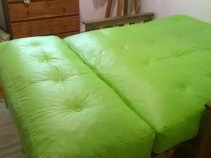 futon cama de dos plazas. sin uso