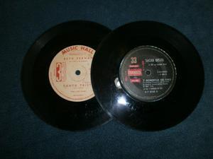 2 discos en 33rpm de BSAeto Hernan y Sacha Distel ver