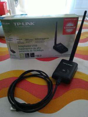 Adaptador inalambrico USB wifi alta potencia