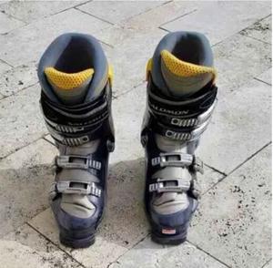 Botas De Ski Salomon Talle 40 + Bolso De Traslado